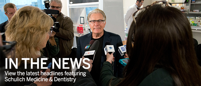Schulich Medicine & Dentistry's top headlines in the news