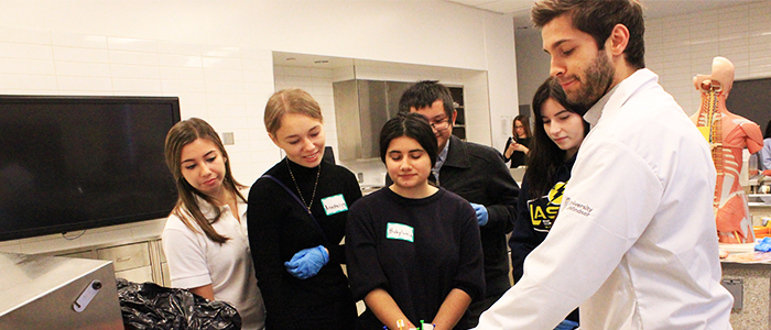 Commitment To The Community Anatomy Day Schulich Communications