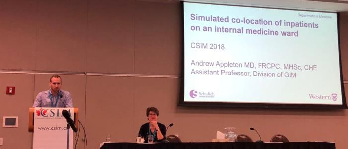 Division of GIM at the Canadian Society of Internal Medicine (CSIM