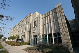 Exterior Building at Schulich Medicine & Dentistry