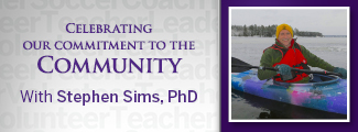 Commitment to the Community with Stephen Sims, PhD
