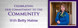 Commitment to the Community with Betty Holme