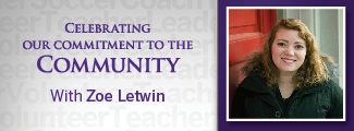 Commitment to the Community with Zoe Letwin