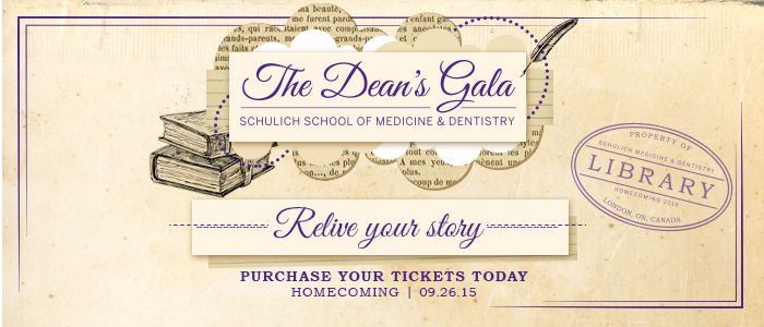 Schulich Medicine & Dentistry Homecoming Dean's Gala