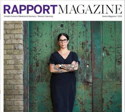 2019 Rapport Magazine Cover