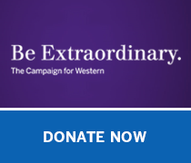 Be extraordinary campaign for western donate now button