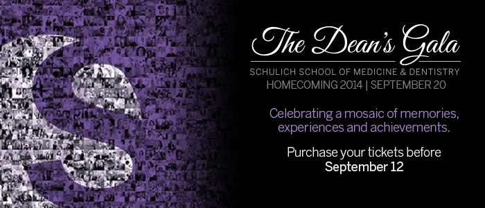 Join us September 20 for the Dean's Homecoming Gala