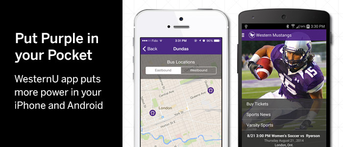 WesternU App puts more power in your iPhone and Android