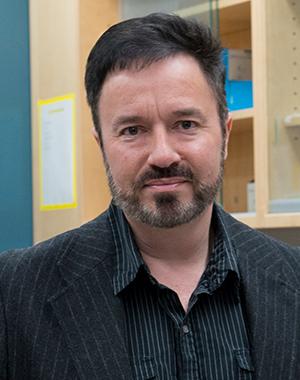 Steven Laviolette in his lab